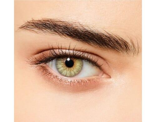 desert dream light green colored contact lens