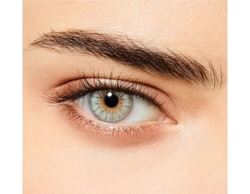 Mint touch colored contact lens
